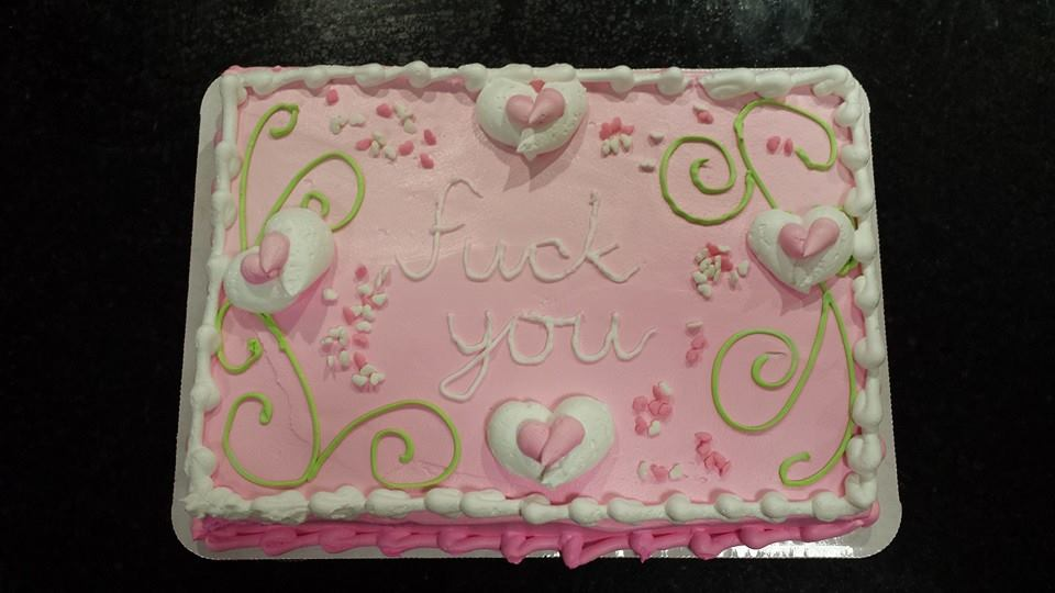 cake from hate hate hate